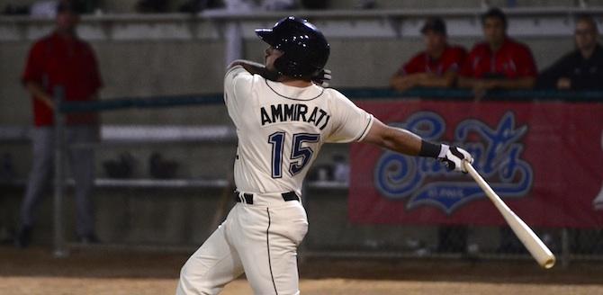 Ammirati Watches Ball Off Bat