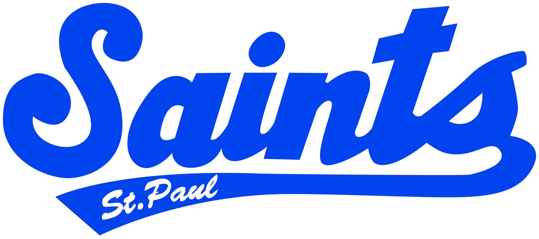Saints Logo Reflex Blue