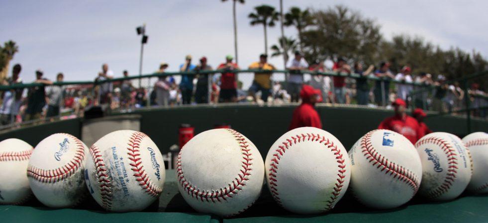Phillies Braves Spring Baseball