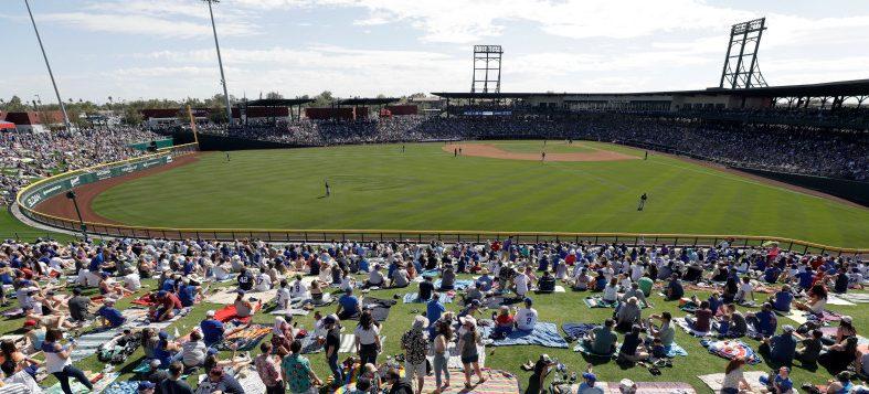 Brewers Cubs Spring Baseball
