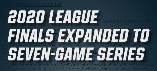 League Finals Expanded