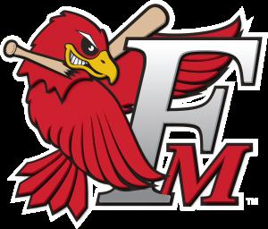 Fmredhawks Fm Bird Logo 3d Outline