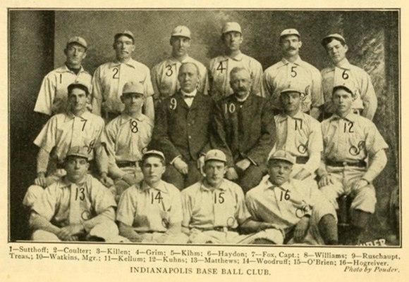Indianapolis Indians circa 1902